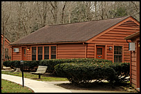 cabin rooms at Turkey Run State Park