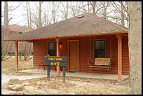 family cabin at Turkey Run State Park