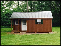 Cabins at Sugar Creek Campground & Canoe Rentals