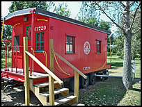 Info Caboose Lake Campground In Indiana